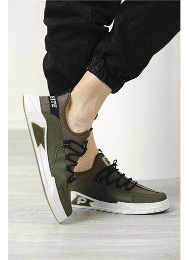 Oksit Plr Hafif Tabanlı Rahat Erkek Sneaker Yeşil